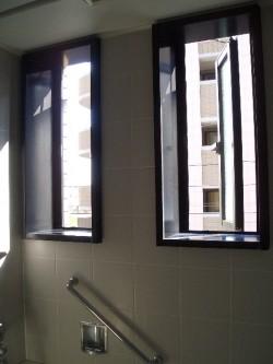 窓もついて明るいうえに通気もばっちりで清潔感あふれます